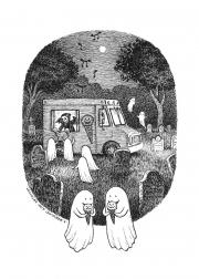 Ice Cream in the Cemetery