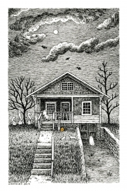 4x6-A-Haunted-house-Laurie-A.-Conley