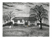 6x8-C-Haunted-house-Laurie-A.-Conley